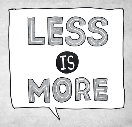 Organisatievernieuwing: minder is meer!